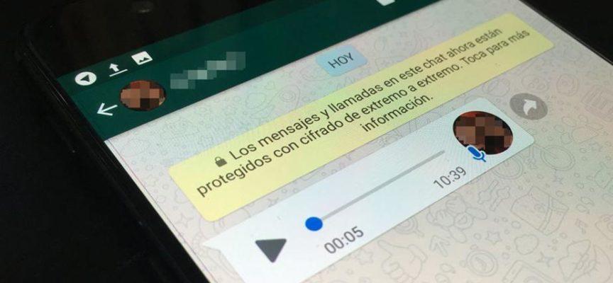 ¿Cómo mandar mensajes de voz por WhatsApp sin apretar botones?