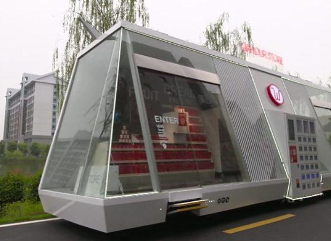 Así serán las compras del futuro: con tiendas móviles y sin empleados