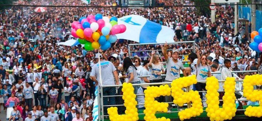 'Yo marcho por Jesús' inundó Buenos Aires