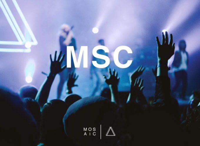 La oscuridad «Tiembla» ante Cristo: Mosaic MSC en español