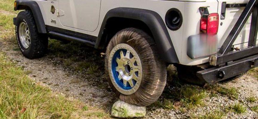 La NASA reinventó la rueda: es de metal, elástica y no se pincha