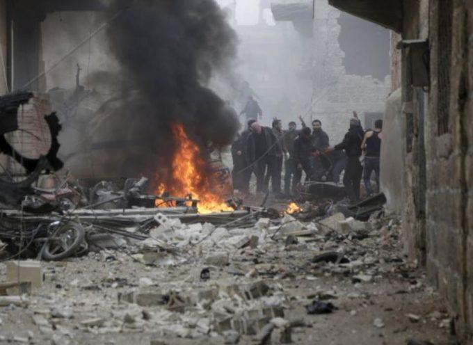 Bombardeo ruso en Siria deja 85 muertos