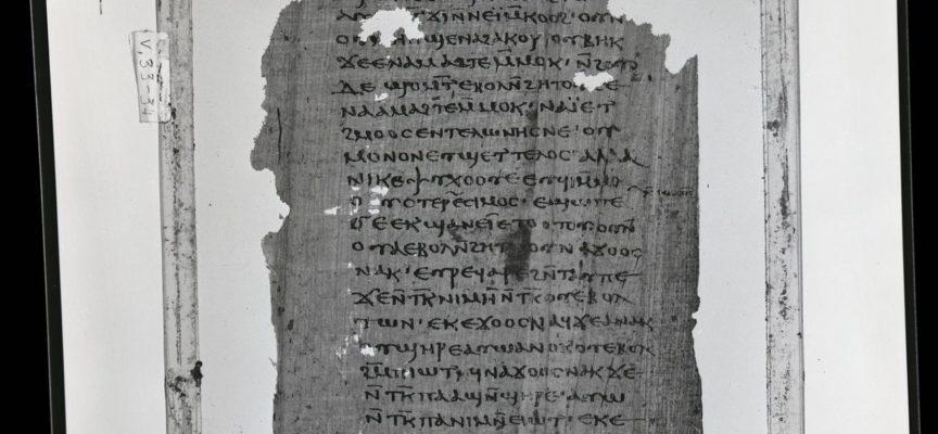 """La primera copia original de las enseñanzas secretas de Jesús a su """"hermano Santiago"""""""