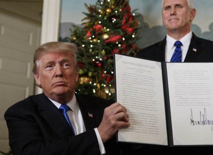 Las Naciones Unidas intenta revertir la decisión de Trump sobre Jerusalén