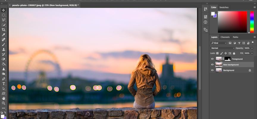 Photoshop permitirá seleccionar y quitar una persona de una foto con un clic